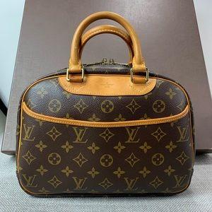 Louis Vuitton Trouville monogram hand bag